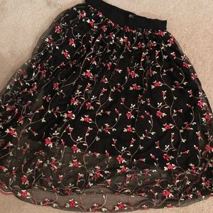 H & M Party Skirt